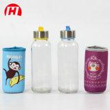 Garrafa de água bebendo de vidro quente da venda 500ml