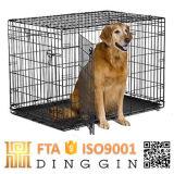 Umweltfreundliches Eisen-Hundehaus im Freien