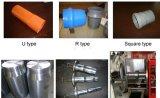 Tubo de plástico de PVC en expansión y Belling y engaste máquina