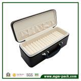 Joyas de cuero de alta calidad caja de almacenamiento con Purtable