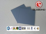 Painel composto em alumínio poliéster GLOBOND (PE-314 branco leitoso)