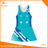 Netball lleno Jersey de la impresión de la sublimación de la ropa de deportes caliente de la venta de Healong