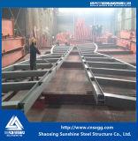 Estructura de acero con el vidrio para el almacén subterráneo