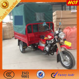 Closed Boxの中国Gasoline Cargo Passenger Three Wheel Motorcycle