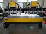 Máquina de madeira do router do CNC dos multi eixos
