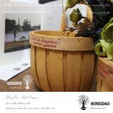 _C корзины украшений стены рождества Hongdao Handmade изготовленный на заказ вися деревянное