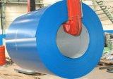 Катушка Ral5017 PPGI Prepainted гальванизированная стальная катушка для материала толя