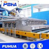 Grenaillage de plaque en acier et chaîne de production de revêtement de traitement préparatoire