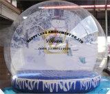 大きく膨脹可能な人間の雪の地球、雪の球の記念品