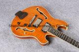 Guitarra elétrica do estilo dourado do Lp do corpo da cavidade da ferragem (GLP-147)