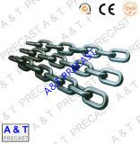 강철 링크에 의하여 직류 전기를 통하는 체인 연결 사슬