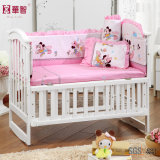 Baby Bedsheet Sets with Crib Bumper