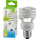 Lampadina economizzatrice d'energia a spirale mezza della lampada 11W 15W 20W 25W 30W
