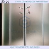 6mm Aangemaakt Obs/Nashiji Gevormd Glas voor de Zaal van de Douche