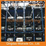 Mutrade 3/4 de elevador do estacionamento do empilhador dos assoalhos para o armazenamento do carro