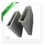 Kundenspezifische galvanisierte Blech-rechteckige Schweißens-Stahlleitung