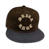 Gorra de béisbol caliente del Snapback de la venta con la insignia levantada Gjfp17165