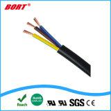 ULのVDEの承認H03vvh2-F H05vvh2-F 2X0.75mm2 2 Pin平らなPinのプラグ。 電源コード