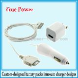 iPhone 시리즈를 위한 벽 Charger+Car Charger+Cable