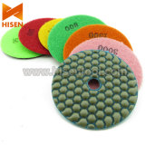 "4 ""100mm Diamond Dry Flexible Polishing Pads"
