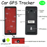 Миниый отслежыватель GPS автомобиля с батареей APP и 2500mAh T28 телефона