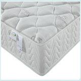 Colchón superior de la cama matrimonial de la almohadilla, colchón de resorte Pocket