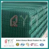 6ゲージのPVCによって塗られる二重金網の塀によって溶接される金網の塀かパネル