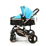 Safety Car Seat를 가진 Foldable Baby Stroller Aluminum Alloy Baby Pram Luxury Baby Buggy