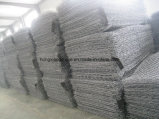 Galvanizado Gaviones neto del acoplamiento de alambre de la jaula Piedra Garbions