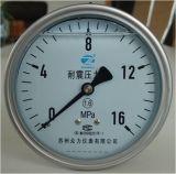 manometro riempito liquido di 100mm Lbm (supporto posteriore più basso)
