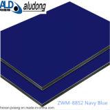 Uso composto de alumínio azul profundo do painel para a decoração ao ar livre