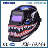 certificado CE escurecimento automático de segurança capacete de soldagem