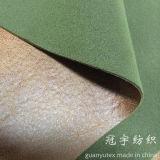 Il tessuto del velluto di stile impresso vena del grano ha legato con protezione lavorata a maglia