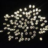 Luz solar de la cadena de la Navidad de la decoración 100LED 200LED 300LED 400LED 500LED LED del jardín de la fiesta de Navidad