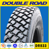 China Tubeless neumáticos para camiones neumáticos baratos TBR Neumático de Camión del neumático radial/neumático (11r 24.5 11R22.5 -- El Dr.818)