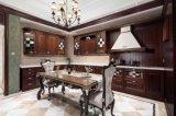 2015 Nieuwe Stevige Houten Keukenkast Welbom met de Deur van het Glas