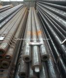 Tubo de acero de Smls, línea tubo con la capa negra, tubo de acero revestido