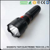 Linterna recargable del estroboscópico del aluminio LED