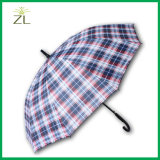 Cadeaux pour le parapluie estampé par logo de clients d'affaires avec le pongé