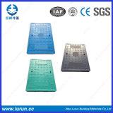 Couverture en boyau composite composite FRP BMC avec cadre