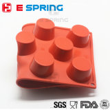 Hauptbacken FDA geführt Siliocne 11 Kammer-Muffin-Kuchen-Form