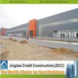 Edificio de la estructura de acero de las vertientes prefabricadas y de la estructura de acero
