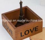 коробка подгонянная 4-Latticed деревянная для упаковывать подарка