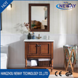 中国の簡単で旧式な卸し売り浴室の家具の虚栄心