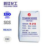 Dióxido Titanium del rutilo del pigmento R218