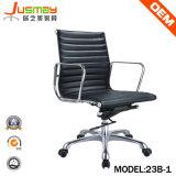 2014 Hot Sales Eames Aluminium Aluminium Aluminium Leder/PU stoel