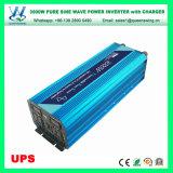 onde sinusoïdale pure d'UPS 3000W outre de l'inverseur de pouvoir de réseau (QW-P3000UPS)