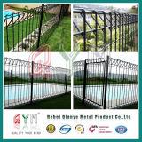 三角形によってRolltopの金網の塀または鋼鉄塀のRolltopの曲げられる塀