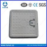 Крышка люка -лаза En124 составная FRP BMC квадратная