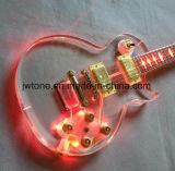 アクリルボディLED Les LPカスタムエレキギター